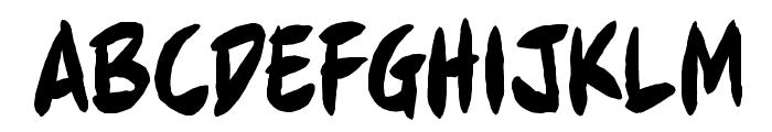 Full Bleed BB Font UPPERCASE
