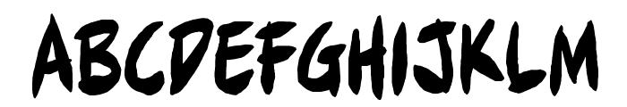 Full Bleed BB Font LOWERCASE