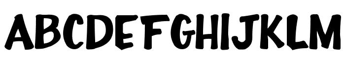 Full-House20 Font UPPERCASE