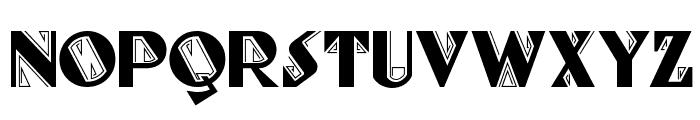 Full-Tilt Boogie NF Font UPPERCASE