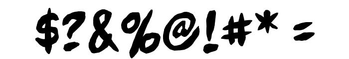 FullBleedBB Font OTHER CHARS