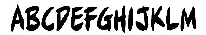 FullBleedBB Font LOWERCASE