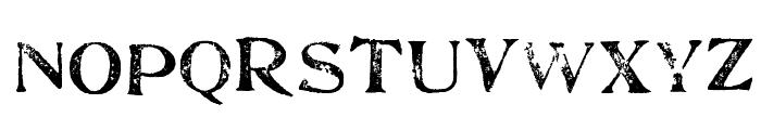 FultonMarkersLight Font UPPERCASE