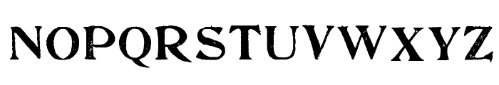 FultonMarkersRegular Font UPPERCASE