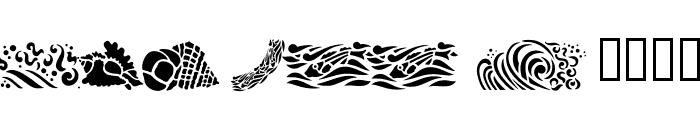 Fun Fish Font UPPERCASE