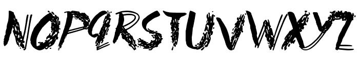 Fun House Font LOWERCASE