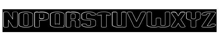 Fun Raiser-Hollow-Inverse Font UPPERCASE