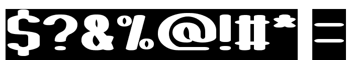 Fun Raiser-Inverse Font OTHER CHARS