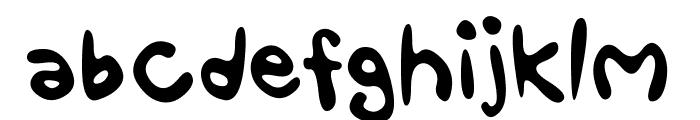 Fun Smiles Font LOWERCASE