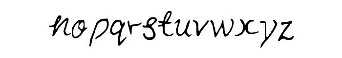 FunInTheSun Font LOWERCASE