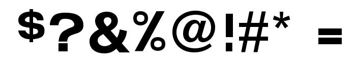FunZone Headline Regular Font OTHER CHARS