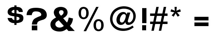 FunZone Three Regular Font OTHER CHARS