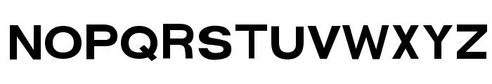 FunZone Three Regular Font UPPERCASE