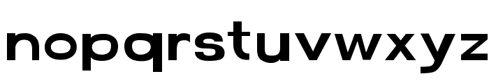 FunZone Three Regular Font LOWERCASE