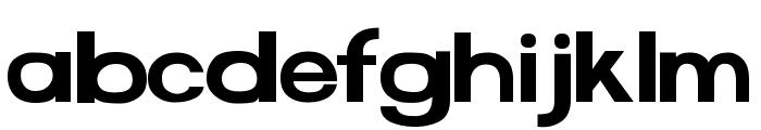 FunZone Two Alternates Regular Font LOWERCASE