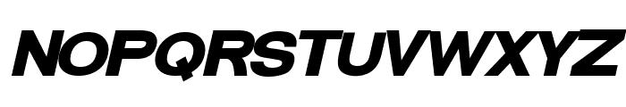 FunZone Two Bold Italic Font UPPERCASE