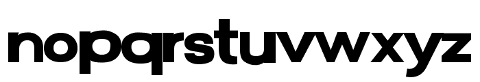 FunZone Two Bold Font LOWERCASE