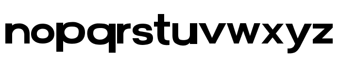 FunZone Two Helv Font LOWERCASE