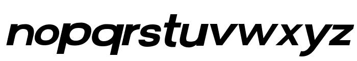 FunZone Two Italic Font LOWERCASE