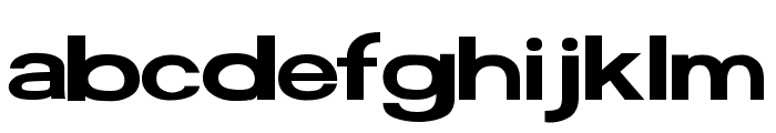 FunZone Two Pro Extended Font LOWERCASE