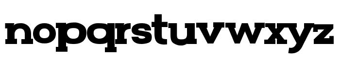 FunZone Two Serif Bold Font LOWERCASE