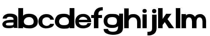 FunZone Two Font LOWERCASE