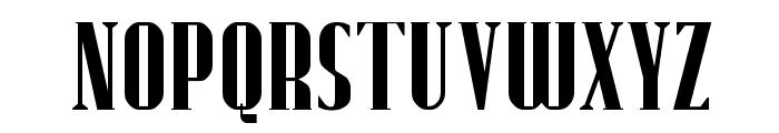 Fund Regular Font UPPERCASE