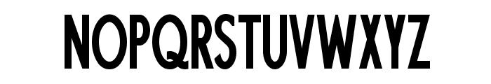 Fundamental  Brigade Condensed Font UPPERCASE