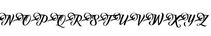 Fundamental Font UPPERCASE