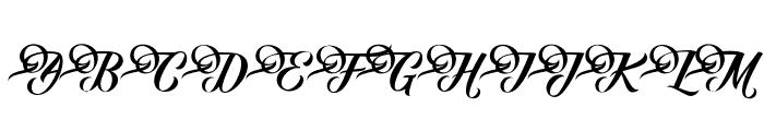 FundamentalFree Font UPPERCASE