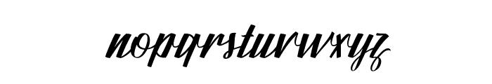 FundamentalFree Font LOWERCASE
