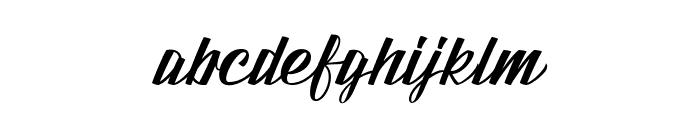 Fundamental Font LOWERCASE