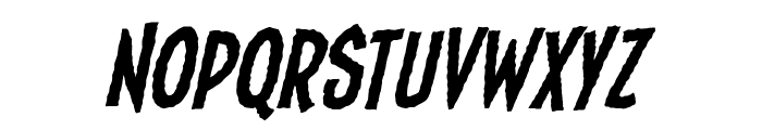 Fundead BB Italic Font LOWERCASE
