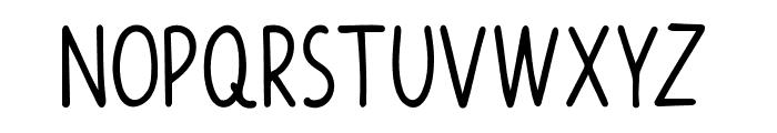 Funiko Font UPPERCASE
