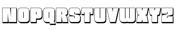 Funk Machine 3D Font LOWERCASE