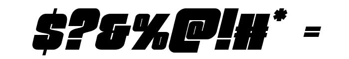 Funk Machine Italic Font OTHER CHARS