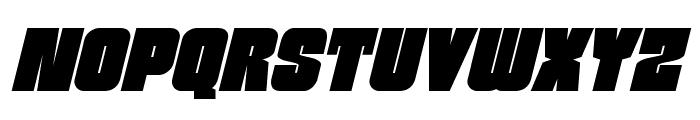 Funk Machine Italic Font UPPERCASE