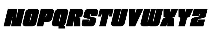Funk Machine Italic Font LOWERCASE