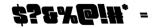 Funk Machine Leftalic Font OTHER CHARS