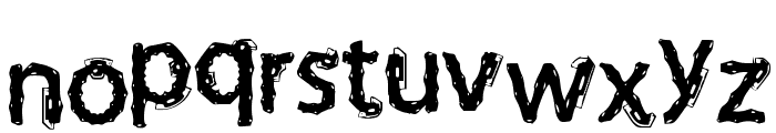 Funky Deco Font LOWERCASE