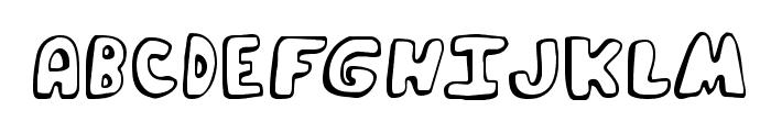 Funky Muskrat Regular Font UPPERCASE