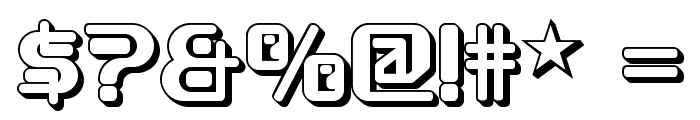 Funky Rundkopf Two NF Font OTHER CHARS