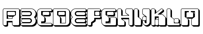 Funky Rundkopf Two NF Font UPPERCASE