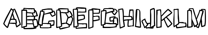 Funky Stoneage Font LOWERCASE
