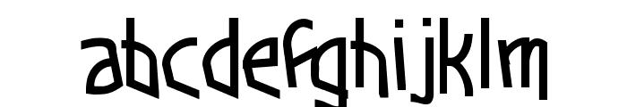 Funkytown Font LOWERCASE