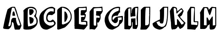 Funny Barber Font UPPERCASE