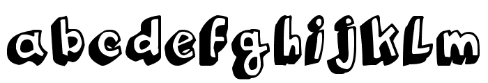 Funny Barber Font LOWERCASE