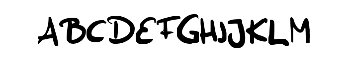 Funny Bunny Font LOWERCASE