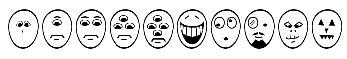 Funny Face Font OTHER CHARS