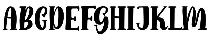 Funny Gang Font UPPERCASE